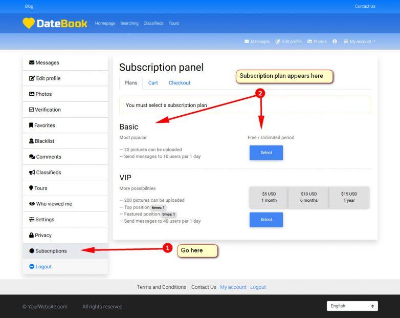 06 subscription profile datebook